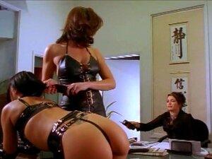 Schlanke Verführerin Eveline Dellai macht ihn mit sexy Dessous an