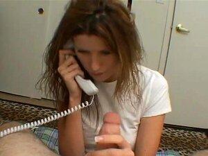 Betrug Blowjob Während Telefon