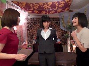 Lesbisch Japanisch Öl Massage
