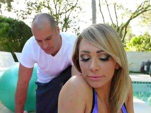 Blondine Lehrer Große Titten Blondine Schönheit