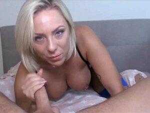 Hausgemachte blonde Ehefrau Pov