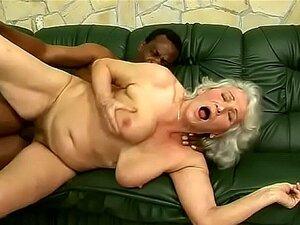 Schwarz Oma Ebenholz Fick