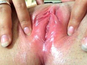 Sehr feuchte vagina