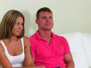 Ehepaar Casting weibliche Agentin