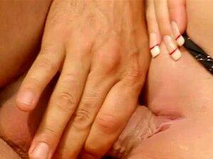 Creampie Muschi Sperma spielen