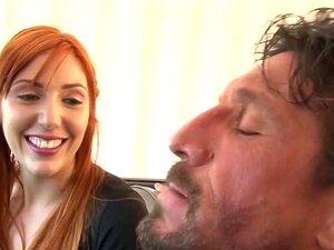 Kopf-Tochter Daddy fickt rote Dad Daughter