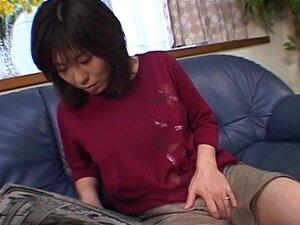 Japanische Mutter lehrt Sohn