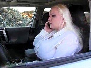 Bbw Große Titten Auto Blowjob