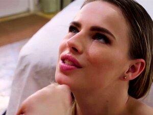 Jillian Janson wird zum Spritzen gefingert und dann brutal in alle Löcher gefickt