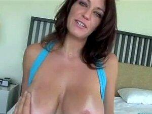 Hausgemachte große Titten Cumshot