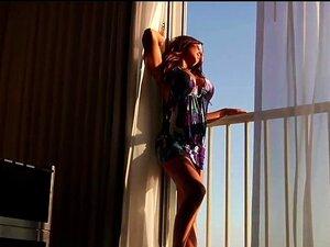 Latina Angelina Stoli macht sich mit riesigen Schwänzen schwarzen Kumpel