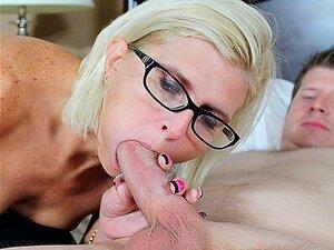 Beobachten Ehemann Saugen Schwanz